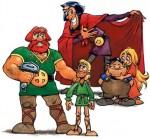 Varios de los personajes de la saga