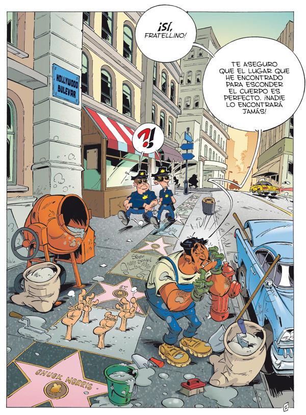 Mafia: la familia Tuno - Descanse en cemento