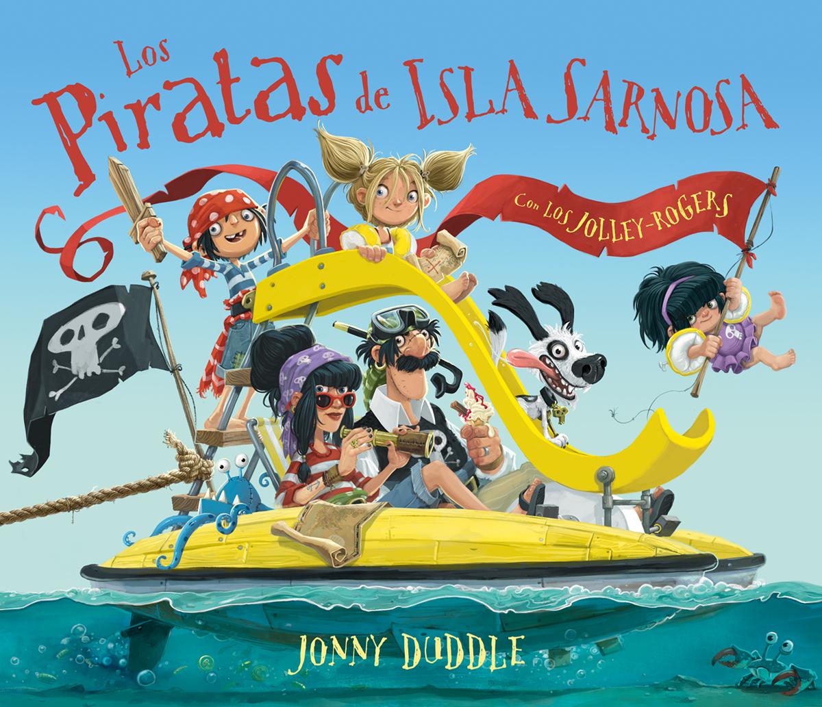 Los piratas de Isla Sarnosa